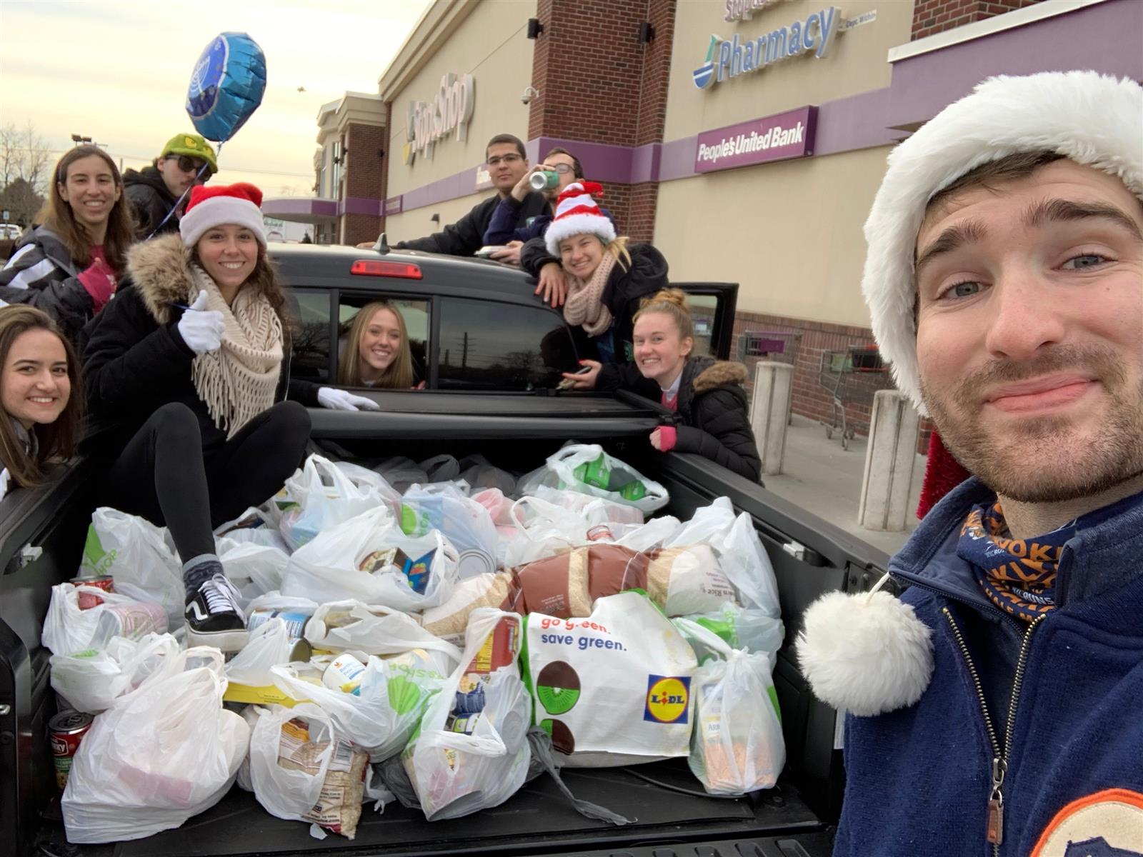 FHS Science Honor Society Collects Donations