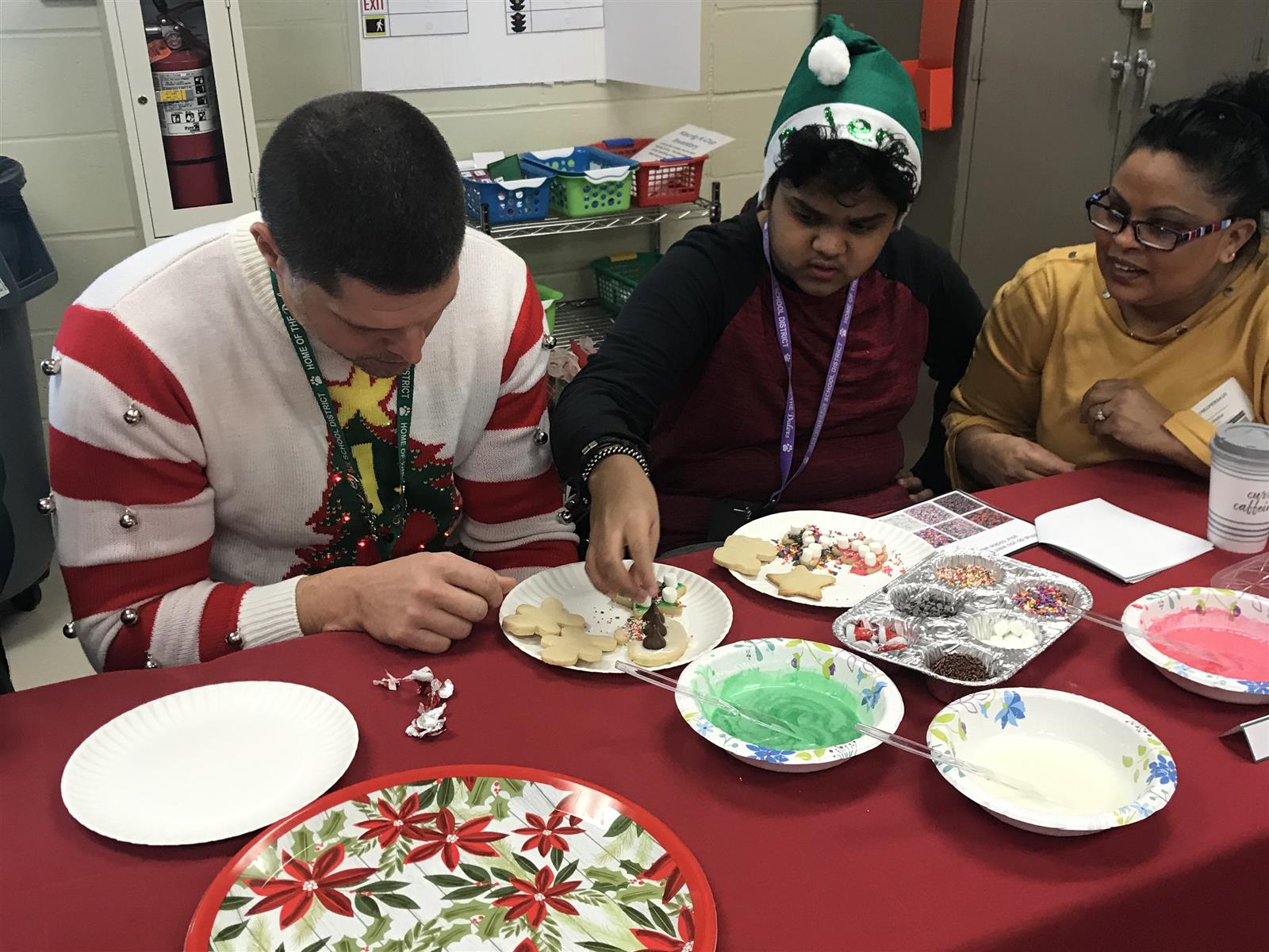First-ever Cocoa and Cookies celebration at FHS