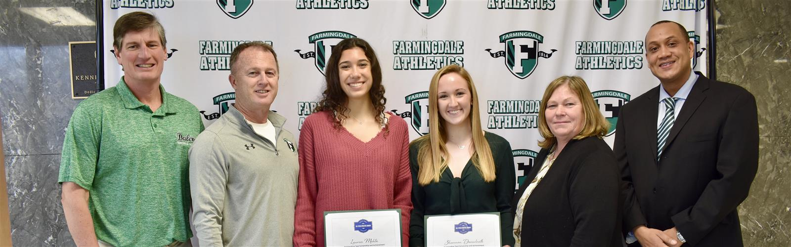 Two FHS Swimmers Receive All Star Athlete Awards