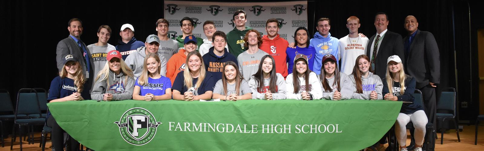 Twenty-four FHS Athletes Sign College Letter of...
